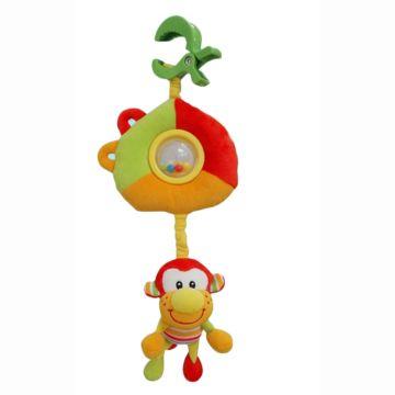 Развивающая игрушка-подвеска на клипсе I-Baby Обезьянка