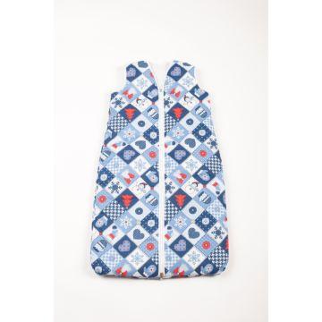 Спальный мешок для новорожденного Feter 100 см (новогодний принт)