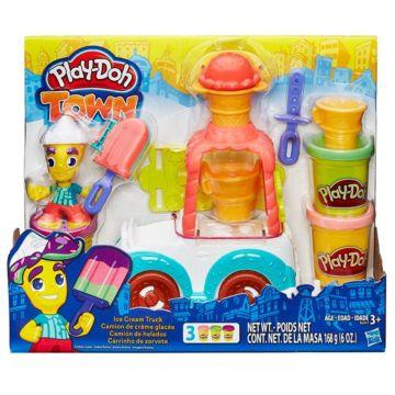 Игровой набор Play-Doh Город Фургон с мороженым
