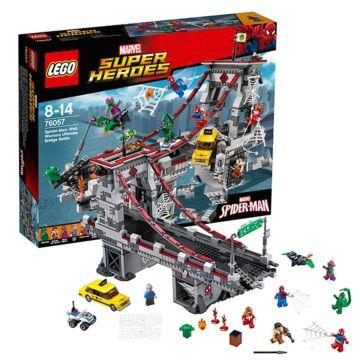 Конструктор Lego Super Heroes 76057 Супер Герои Последний бой воинов паутины