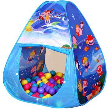 Детская палатка Ching-Ching с шарами Океан Треугольник
