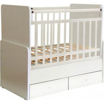 Кроватка детская Фея 720 (поперечный маятник) (Белый)