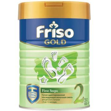 Сухая молочная смесь Friso Gold 2 (6-12 мес.) 800 г