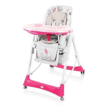 Стульчик для кормления Baby Design Bamby (розовый)