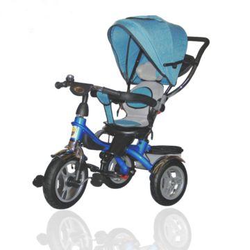 Трехколесный велосипед Ecoline Duetto 145320 (Синий)