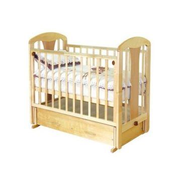 Кроватка детская Можга Виталина (поперечный маятник) (орех)