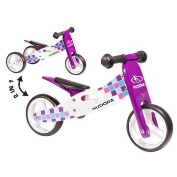 Беговел Hudora Wooden running-tricycle (фиолетовый)