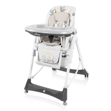 Стульчик для кормления Baby Design Bamby (серый)