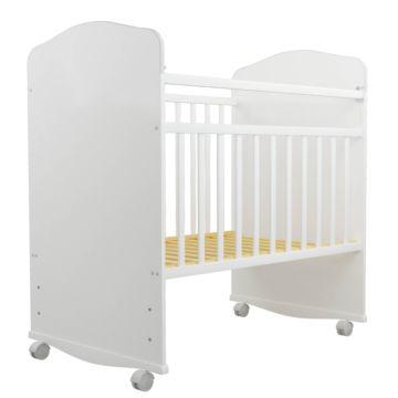 Кроватка-качалка Агат Золушка-8 (Белый)