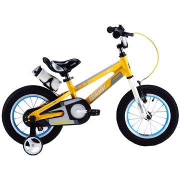 "Детский велосипед Royal Baby Freestyle Space №1 Alloy 14"" (желтый)"