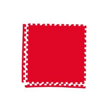 Мягкий пол Экополимеры 60*60 (красный)