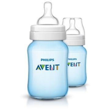 Бутылочки Philips AVENT полипропиленовые Classic+ SCF564/27 260 мл (2 шт) (Голубой)