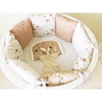 Комплект постельного белья Sleep and Smile (11 предметов, хлопок) (млечный путь)