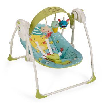 Электрокачели Happy Baby Jolly (синий)