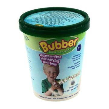 Кинетический песок Bubber Bucket-White