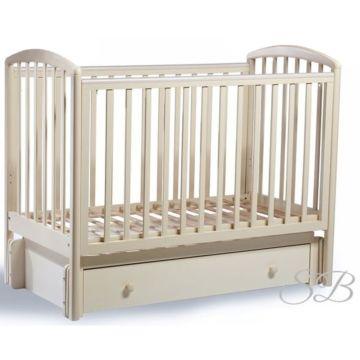 Кроватка детская Sweet Baby Tesoro (Универсальный маятник) Avorio