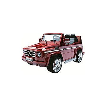 Электромобиль Joy Avtomatic Mercedes Benz G55 AMG с пультом управления (красный)