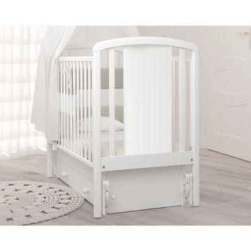 Кроватка детская Гандылян Жаклин (универсальный маятник) (белый)