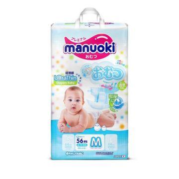 Подгузники Manuoki M (6-11 кг) 56 шт