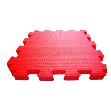Мягкий пол Babypuzz 100*100*1.5 (красный)