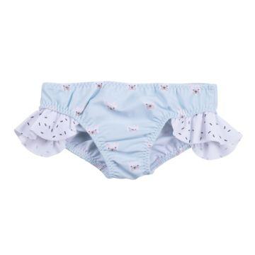 Плавки детские для девочек Happy Baby (голубые)