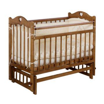 Кроватка детская Incanto Sofi (поперечный маятник) (орех)