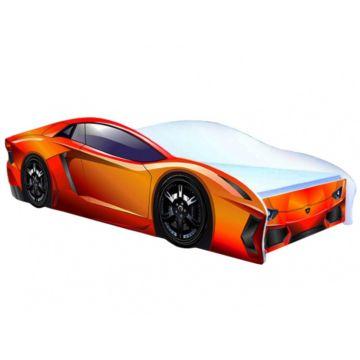 Кровать-машина Кроватка5 Ламбо (оранжевая)