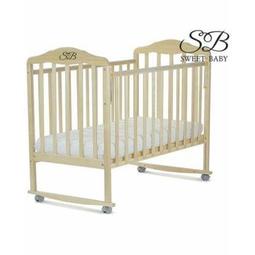 Кроватка-качалка Sweet Baby Lorenzo (378) (Береза)