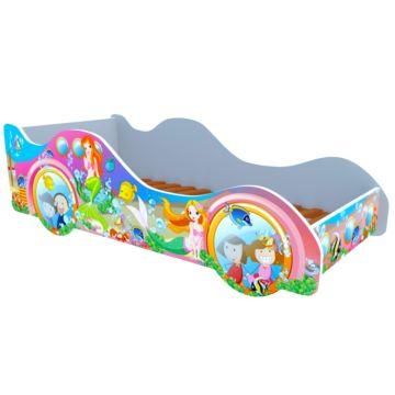 Кровать-машина Кроватка5 Машинки (Русалки)
