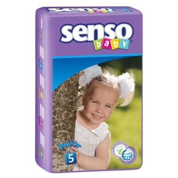 Подгузники Senso Baby Junior (11-25 кг) 56 шт