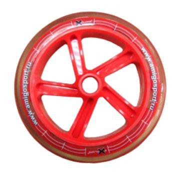 Колесо для самоката Explore 200 мм (красное)