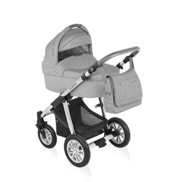 Коляска 2 в 1 Baby Design Dotty Original (серый)