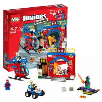 Конструктор Lego Juniors 10687 Убежище Человека-паука