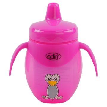 Поильник Adiri Penguin Trainer Pink 250 мл