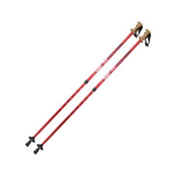Палки для скандинавской ходьбы TechTeam Nordic 110-135 см (red)