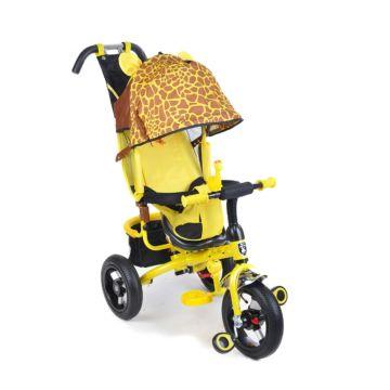 """Трехколесный велосипед Mini Trike Zoo с надувными колесами 12"""" и 10"""" (жираф)"""