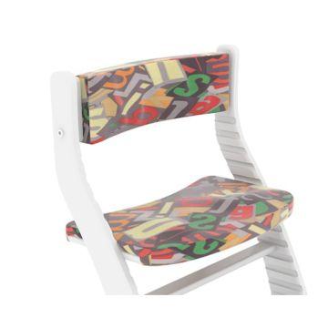 Подушка для стульчика Бельмарко Усура (азбука сиреневая)