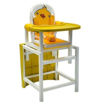 Стул-стол для кормления Babys DUCKY (желтый)