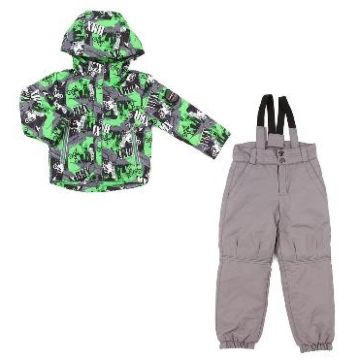 Куртка с полукомбинезоном зимние Fun Time BKF1715L