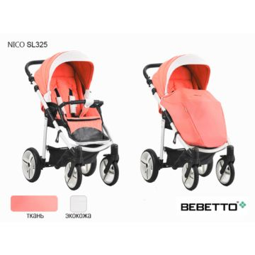 Коляска прогулочная Bebetto Nico SL325