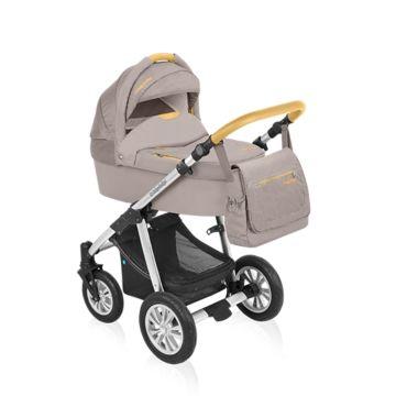 Коляска 2 в 1 Baby Design Dotty Denim (бежевый)