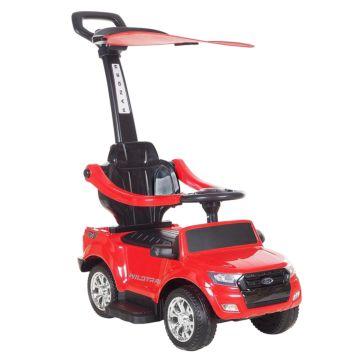 Каталка Ford Ranger с козырьком (красная)