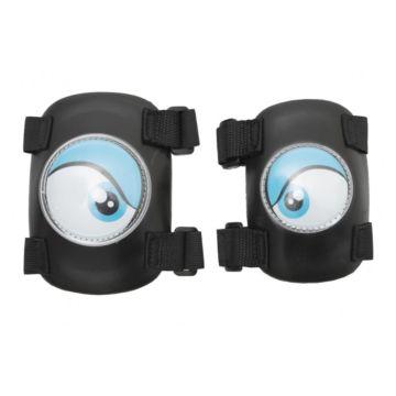 Комплект защиты локтей и колен Crazy Safety (синий)