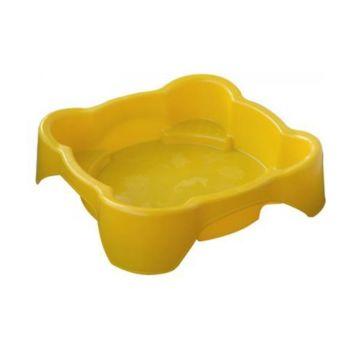 Песочница-бассейн Palplay Квадратная (Желтый)