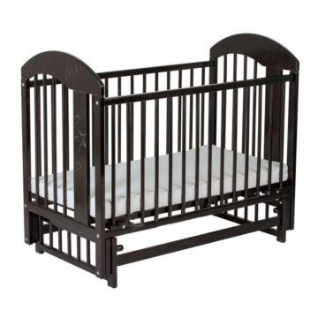 Кроватка детская Gnom Луна (поперечный маятник) (венге)