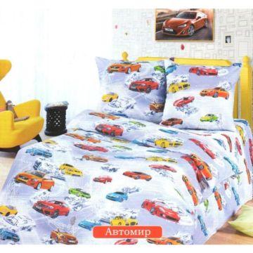 Комплект постельного белья Кроватка5 (3 предмета) (Автомир)