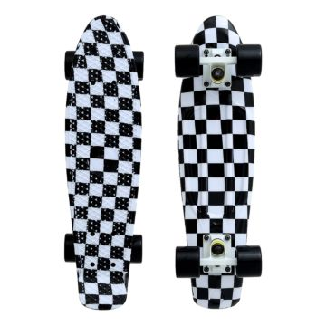 "Мини-круизер Fish Skateboards 22"" Print Cells"
