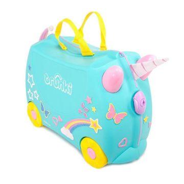 Каталка-чемодан Trunki Единорог Уна