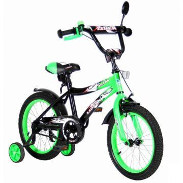 """Детский велосипед Velolider Shark 16"""" Зеленый/Черный"""