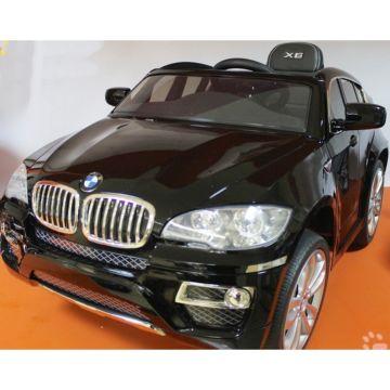 Электромобиль Kids Cars BMW X6 с пультом управления (черный)